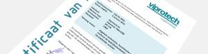 Viprotech Certificaat van Revisie